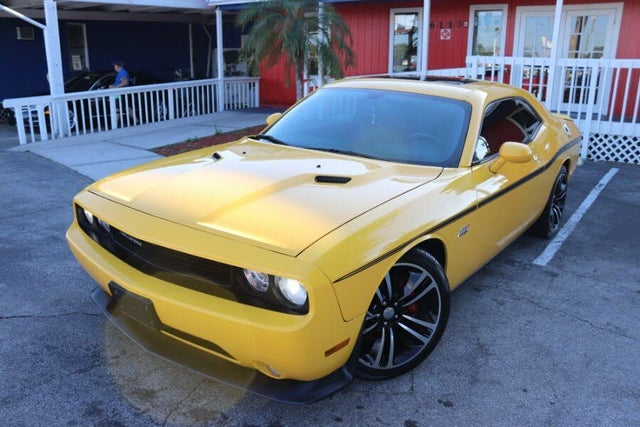 dodge challenger for sale yellow Used Dodge Challenger SRT1 1 Yellow Jacket RWD for Sale (with