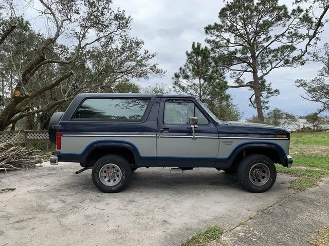 1985 Ford Bronco XLT 4WD