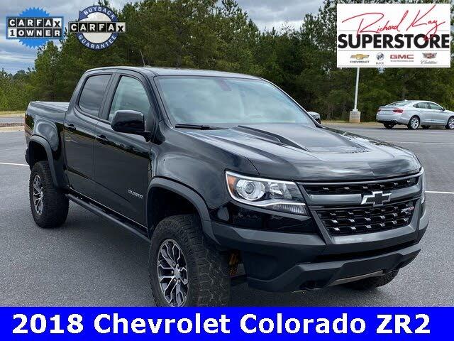 2018 Chevrolet Colorado ZR2 Crew Cab 4WD