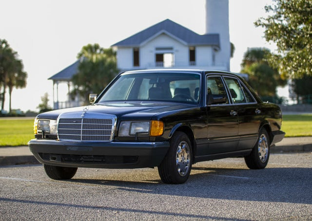1991 Mercedes-Benz 350-Class 4 Dr 350SD Turbodiesel Sedan