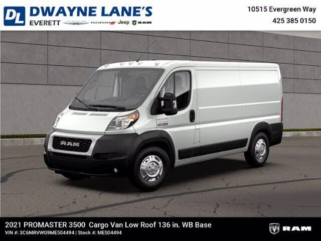 2021 RAM ProMaster 3500 136 Low Roof Cargo Van FWD
