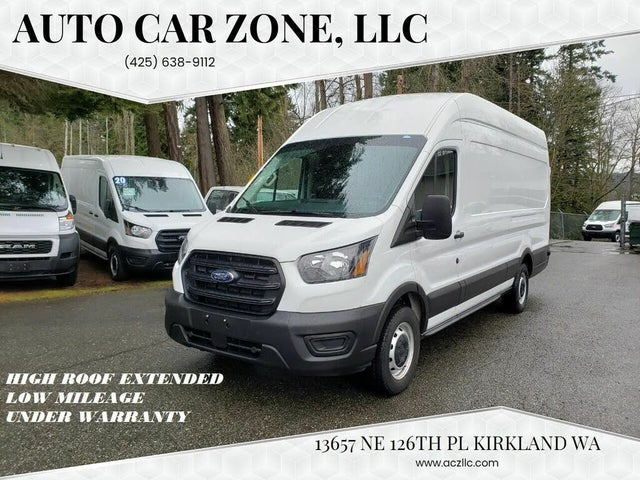 2020 Ford Transit Cargo 250 Extended High Roof LWB RWD with Sliding Passenger-Side Door