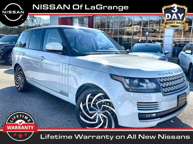 2017 Land Rover Range Rover Td6 HSE 4WD