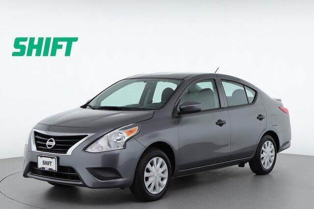2016 Nissan Versa 1.6 S Plus