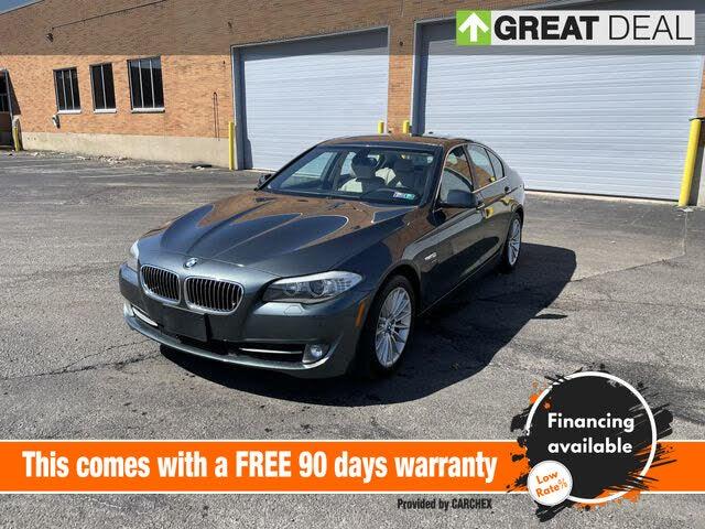 2012 BMW 5 Series 535i xDrive Sedan AWD