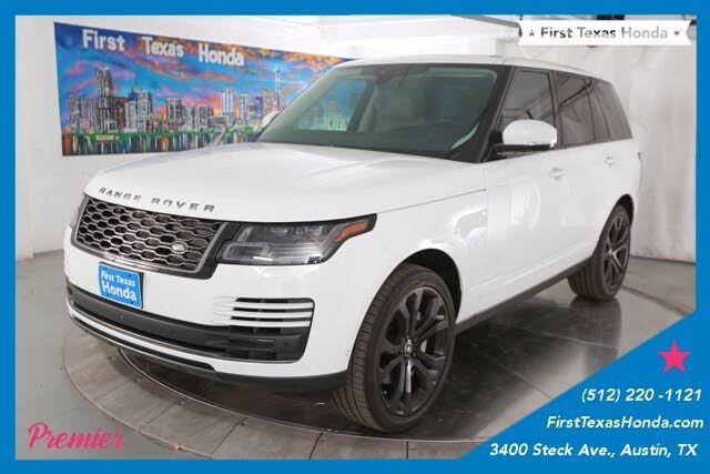 2018 Land Rover Range Rover V6 4WD