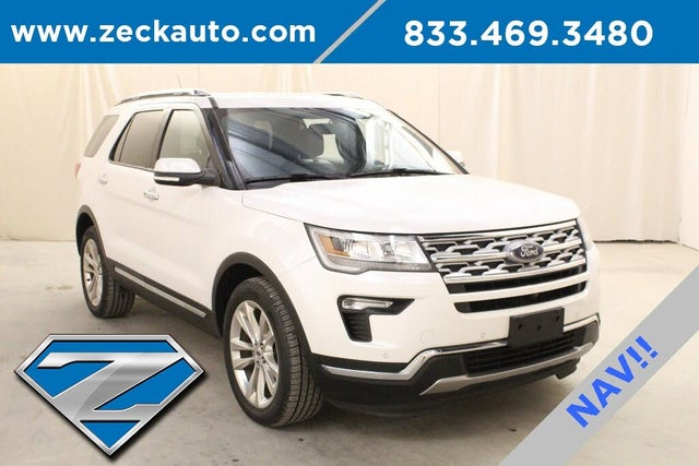 2018 Ford Explorer Limited AWD