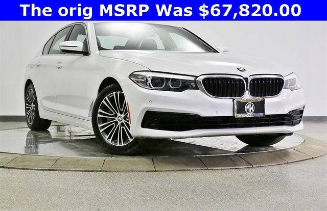 2019 BMW 5 Series 540i xDrive Sedan AWD