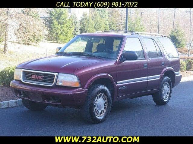 2001 GMC Jimmy 4 Dr SLE SUV 4WD