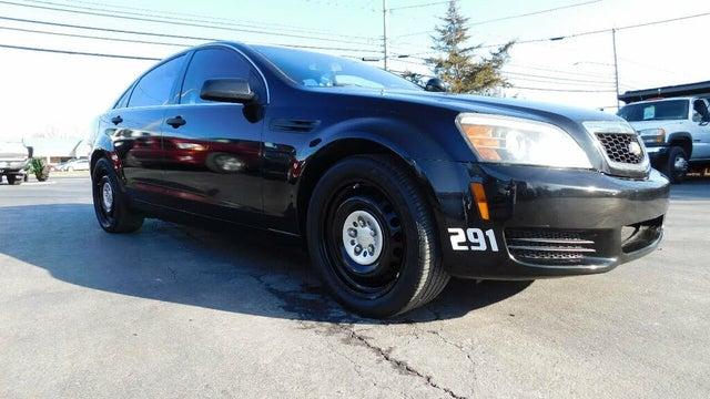 2012 Chevrolet Caprice Police Sedan RWD