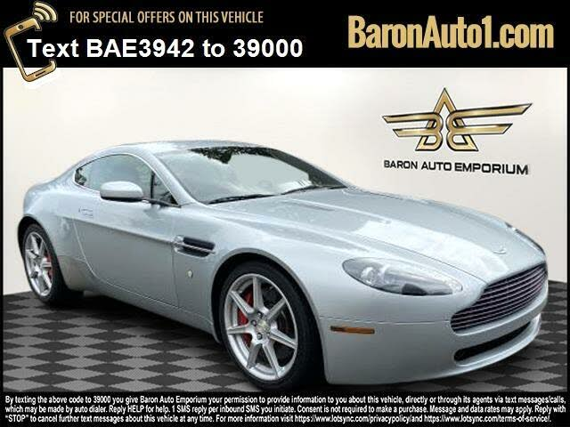 Used Aston Martin V8 Vantage Coupe Rwd For Sale Right Now Cargurus