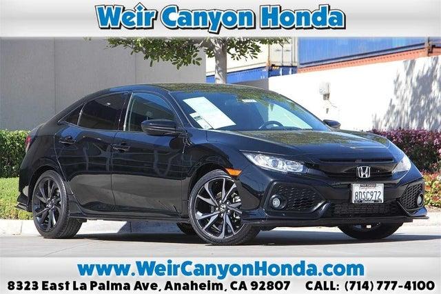 2018 Honda Civic Hatchback Sport FWD