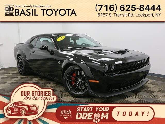 dodge hellcat for sale buffalo ny 2018 Dodge Challenger SRT Hellcat Widebody RWD for Sale in