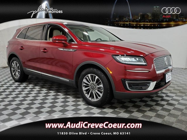 2019 Lincoln Nautilus Select FWD