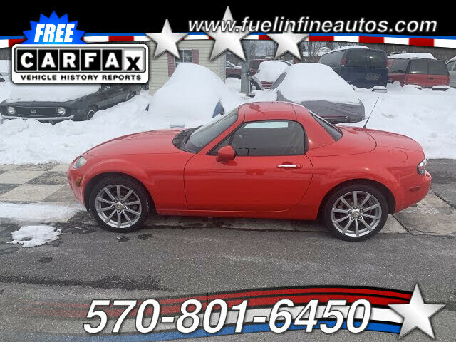 2008 Mazda MX-5 Miata Grand Touring Hardtop Convertible