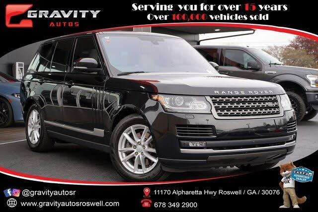 2016 Land Rover Range Rover V6 4WD