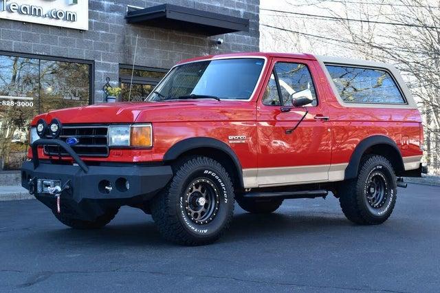 1991 Ford Bronco Eddie Bauer 4WD