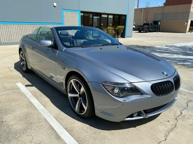 2006 BMW 6 Series 650i Convertible RWD