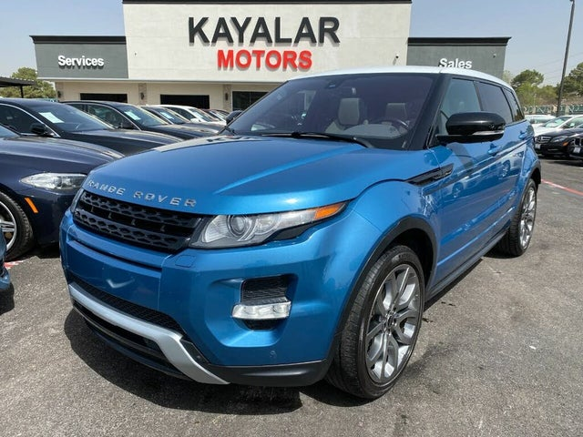 2012 Land Rover Range Rover Evoque Dynamic Crossover AWD