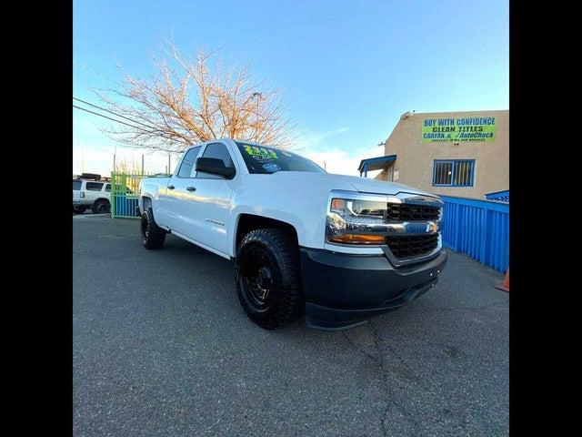 2018 Chevrolet Silverado 1500 Work Truck Double Cab RWD