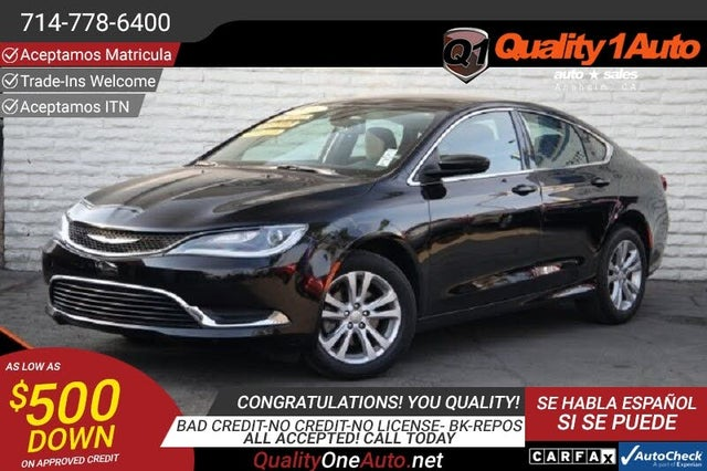 2016 Chrysler 200 Limited Sedan FWD