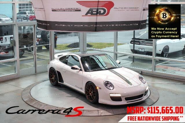 2010 Porsche 911 Carrera 4S Coupe AWD