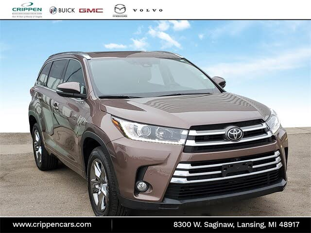 2017 Toyota Highlander Limited Platinum