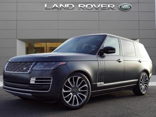 2020 Land Rover Range Rover SVAutobiography V8 LWB 4WD