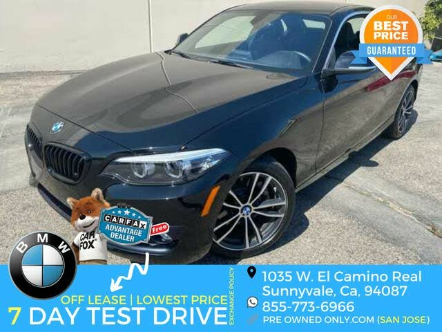 2018 BMW 2 Series 230i Coupe RWD