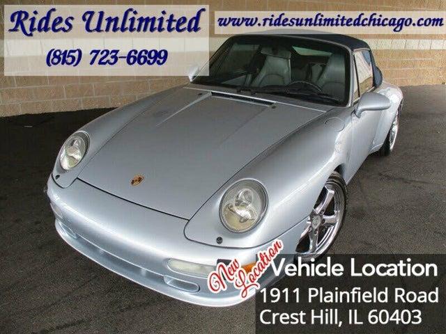 1996 Porsche 911 Carrera 4 Convertible AWD