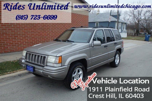 1998 Jeep Grand Cherokee 5.9 Limited 4WD