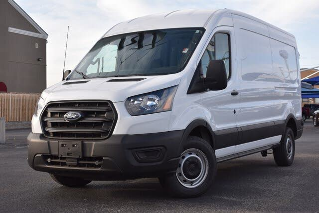 2020 Ford Transit Cargo 350 LWB RWD with Sliding Passenger-Side Door