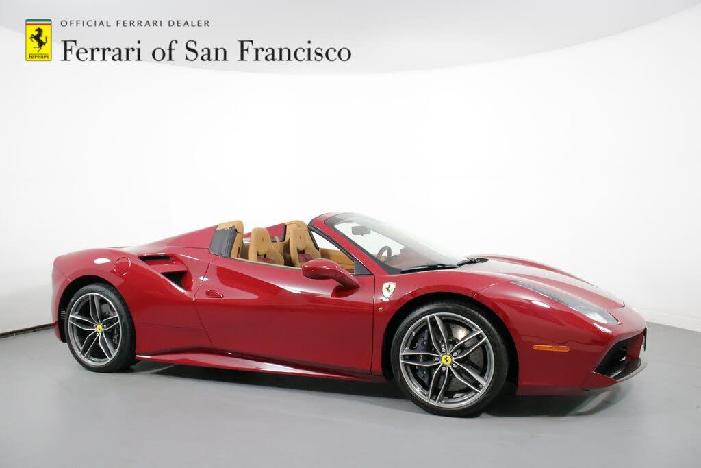 Used Ferrari 488 Spider Rwd For Sale Right Now Cargurus