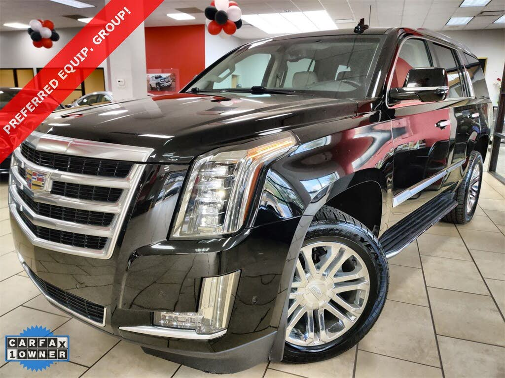 Used 2018 Cadillac Escalade For Sale Right Now Cargurus