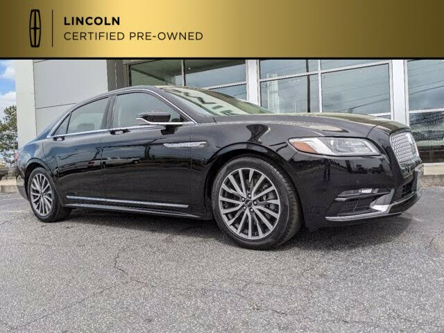 2018 Lincoln Continental Select FWD