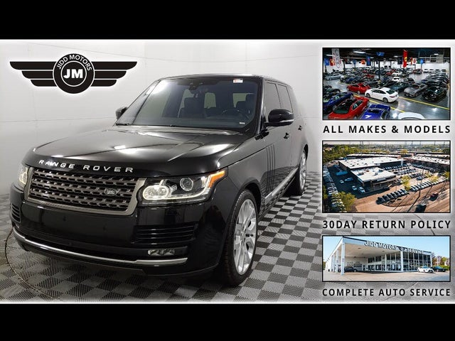 2017 Land Rover Range Rover Td6 4WD