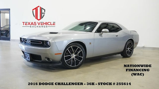 2016 Dodge Challenger R/T Scat Pack RWD