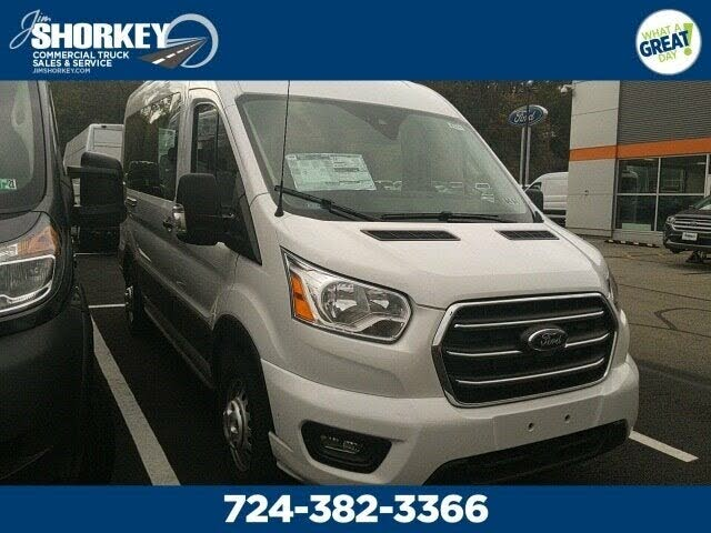 2020 Ford Transit Passenger 150 XLT AWD with Sliding Passenger-Side Door