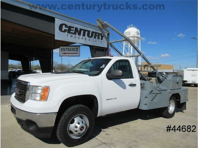 2013 GMC Sierra 3500HD Work Truck 4WD Chassis
