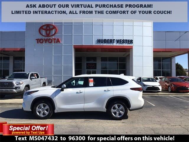 2021 Toyota Highlander L FWD