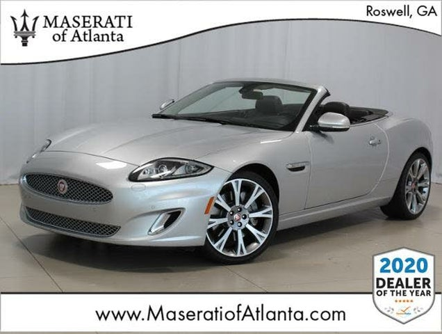 2015 Jaguar XK-Series XK Convertible RWD