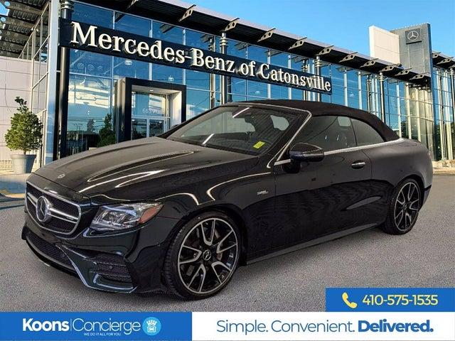 2020 Mercedes-Benz E-Class E AMG 53 4MATIC Cabriolet AWD