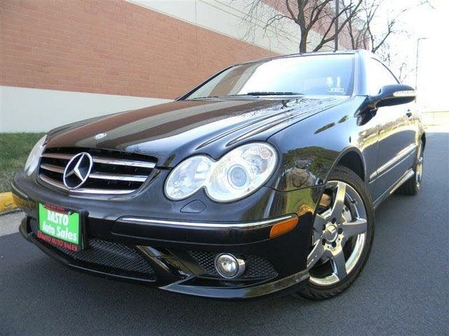 2006 Mercedes-Benz CLK-Class CLK 500 Coupe
