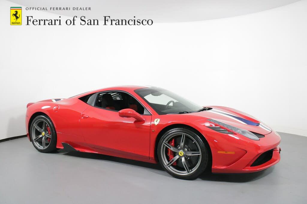 Used 2015 Ferrari 458 Italia For Sale With Photos Cargurus