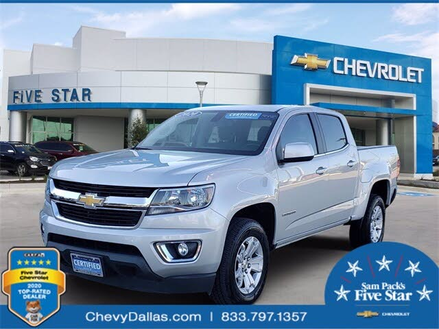 2020 Chevrolet Colorado LT Crew Cab RWD
