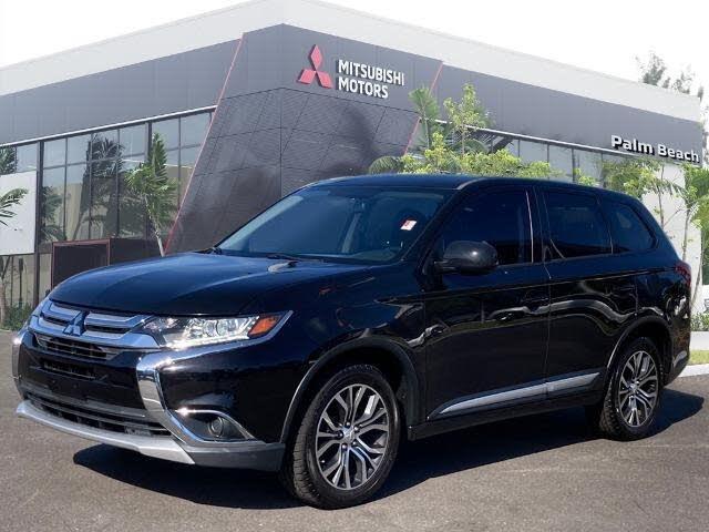 2017 Mitsubishi Outlander ES AWD
