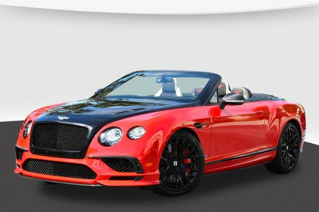 2018 Bentley Continental Supersports Convertible AWD