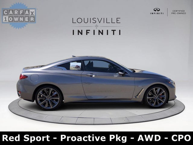 2020 INFINITI Q60 Red Sport 400 Coupe AWD