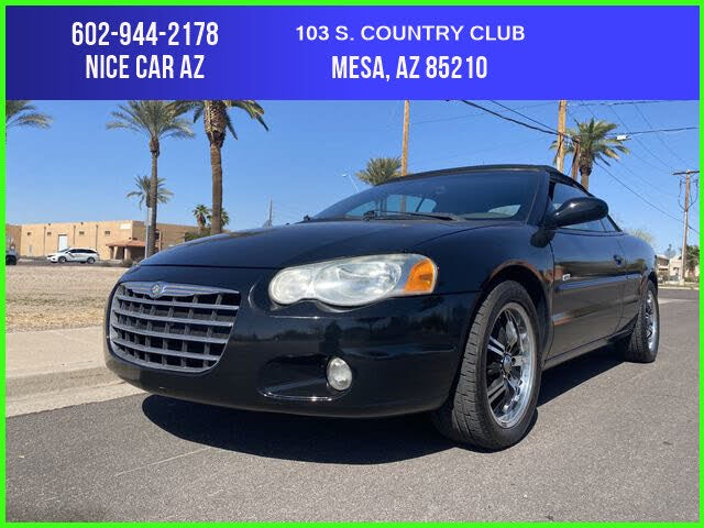 2005 Chrysler Sebring Touring Convertible FWD