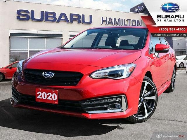2020 Subaru Impreza 2.0i Sport-tech Sedan AWD with EyeSight Package
